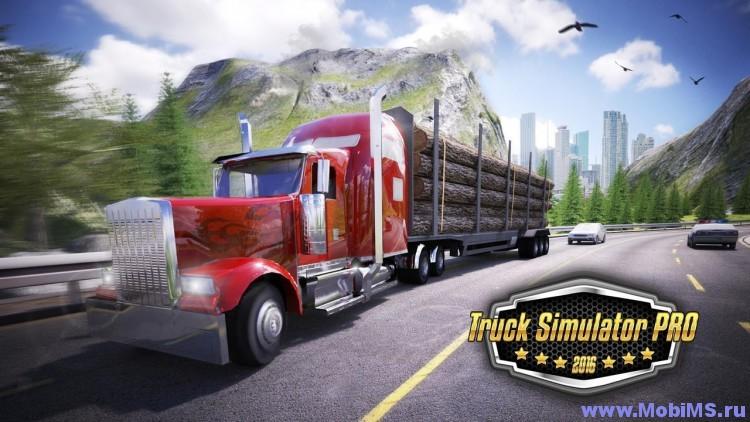 Игра Truck Simulator PRO 2016 для Android