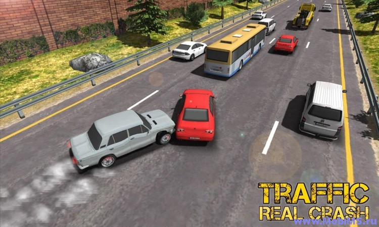 Игра 3D Real Racer Crash Traffic для Android