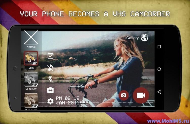 Приложение VHS Camera Recorder для Android