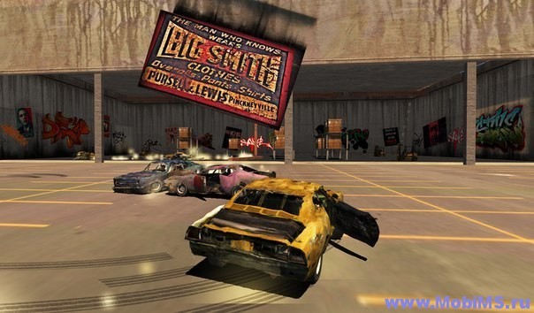 Игра Total Destruction Derby Racing + Мод на валюту для Android