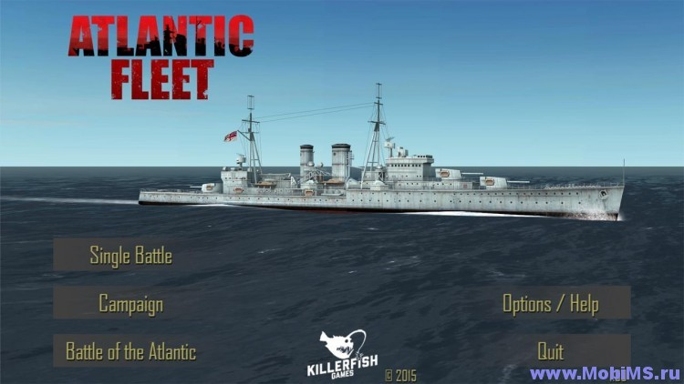 Игра Atlantic Fleet для Android