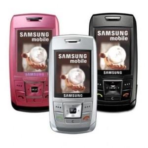 Прошивка для Samsung E250 E250XEFL1