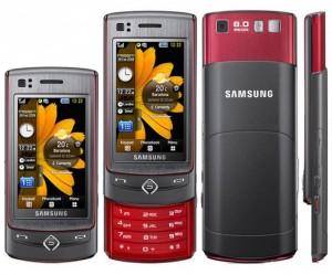 Прошивка для Samsung Ultra TOUCH S8300 S8300XEIG1