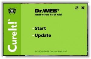Лечащая утилита Dr.Web CureIt!®