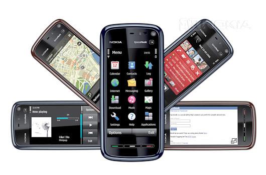 Cмapтфoны Nokia 5800 и Nokia 5530 пoлyчили oбнoвлeниe