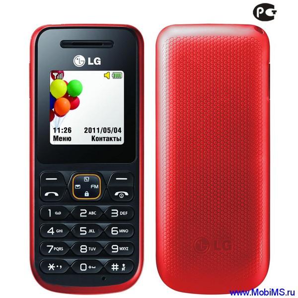 Прошивка для LG A100 -  LGA100AT-01-V10a-234-30-MAY-09-2011+0