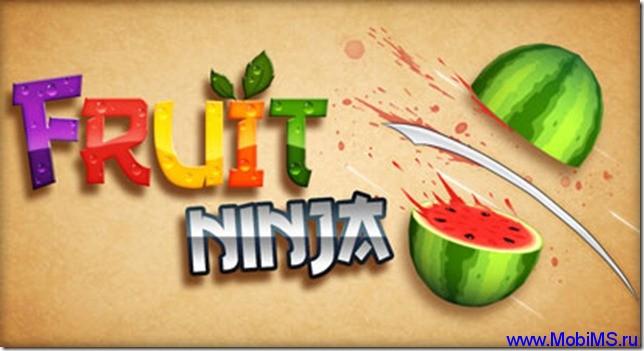 Игра Fruit Ninja для Android