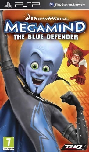 Игра для PSP Мегамозг: Синий защитник / DreamWorks Megamind: The Blue Defender / RU / Adventure / 2010 / PSP