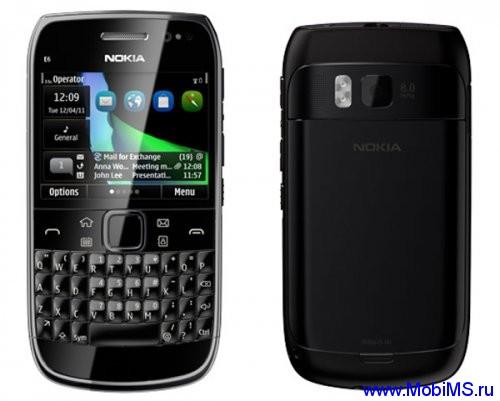 Прошивка для Nokia E6 SW RM-609 v025.007