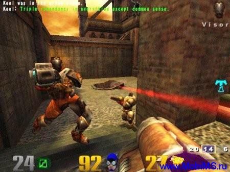 Игра Quake 3 - легендарный шутер для android