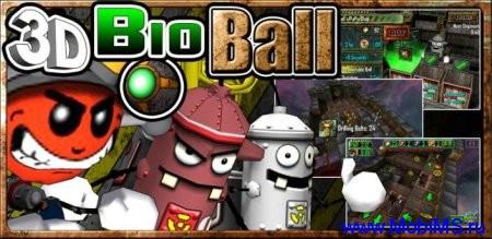 Игра 3D Bio Ball HD - управляйте шариком для android