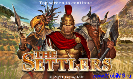 Игра The Settlers HD - стратегия в реальном времени для android