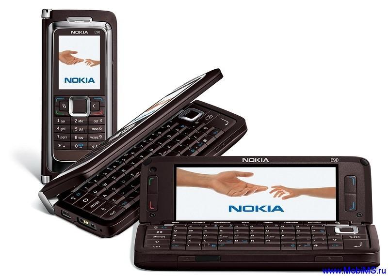 Прошивка для Nokia E90 SW RA-6 v400.34.93