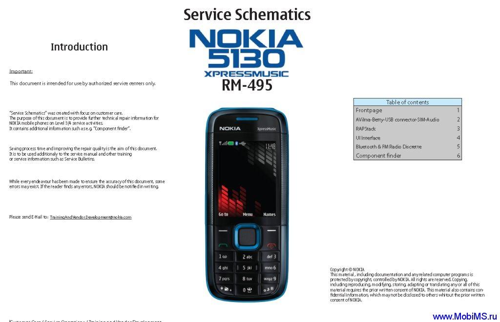Nokia 5130 XpressMusic RM-495