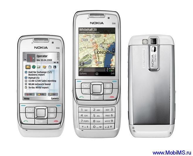 Прошивка для Nokia E66 SW RM-343 v510.21.009