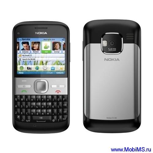 Прошивка для Nokia E5 SW RM-632 v071.003