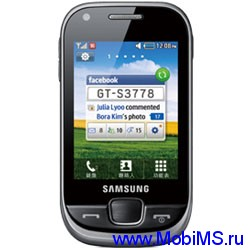 Прошивка для Samsung S3778  -   S3778ZNKH1_CHNKH1