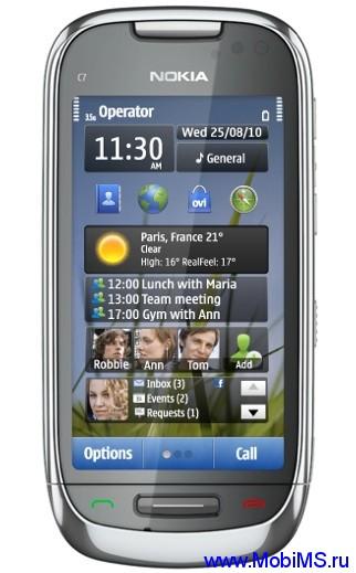 Прошивка для Nokia C7 SW RM-675 v025.007