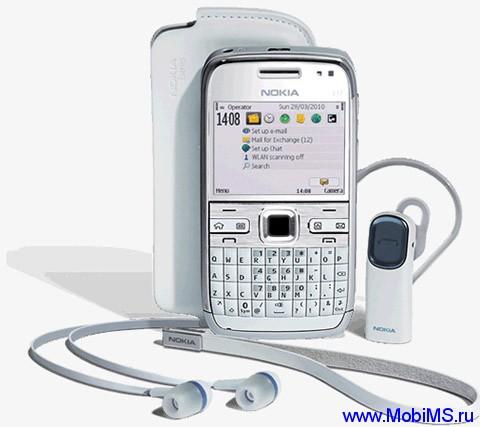 Прошивка для Nokia E72 SW RM-530 v071.004
