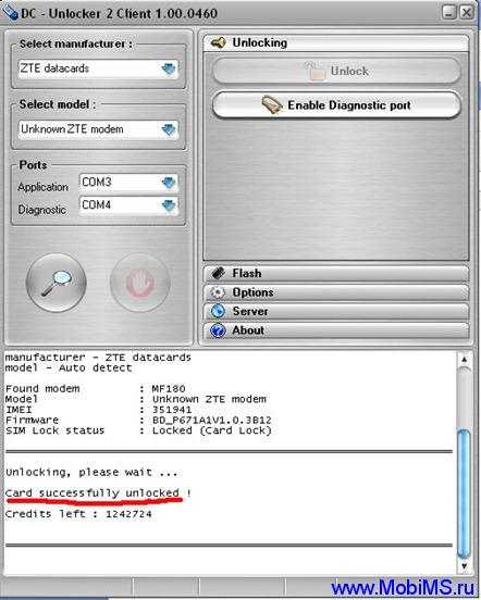 DC+-+Unlocker+2+Client~  + инструкция по разблокировке модема.