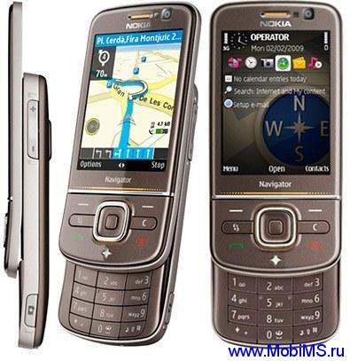 Прошивка для Nokia 6710nav SW RM-491 v031.022