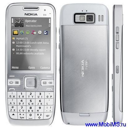Прошивка для Nokia E55 SW RM-482 v034.001