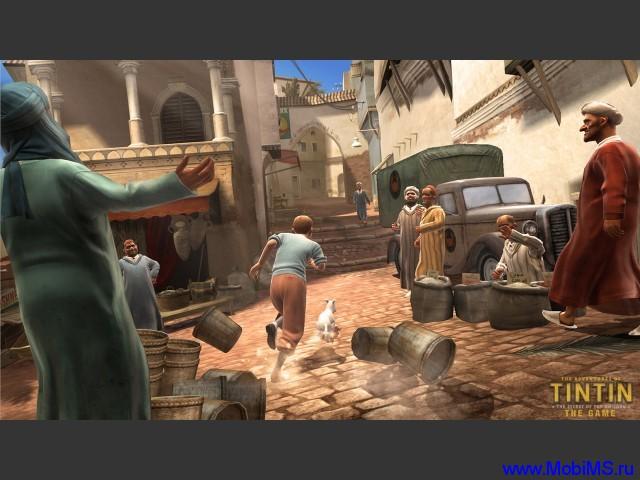 Игра The Adventures of Tintin для android