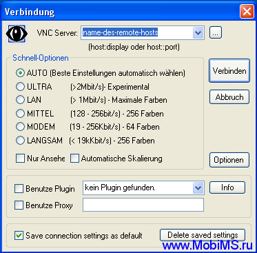 UltraVNC Setup 1.0.9.6.1