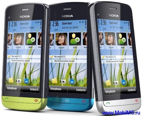 Прошивка для Nokia C5-03 RM-697 Gr.RUS sw-21.0.003