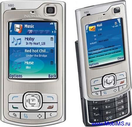 Прошивка для Nokia N80-1 RM-92 18.0 RUS sw-5.0719.0.2 Light