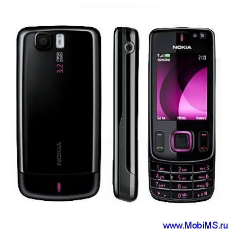 Прошивка для Nokia 6600 Slide RM-414 Gr.RUS sw-06.55 v22.0