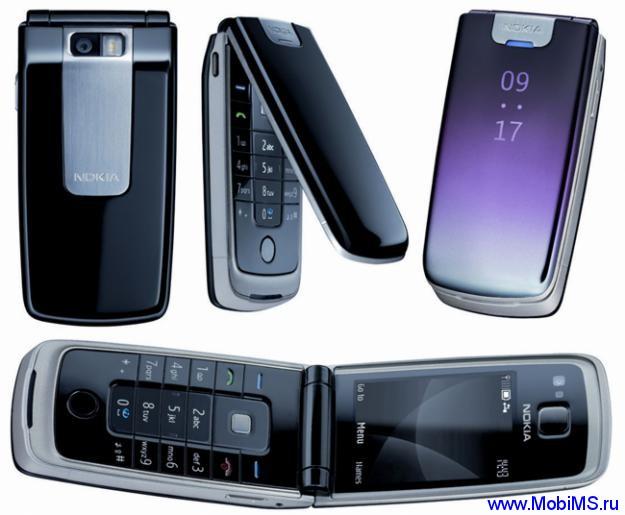 Прошивка для Nokia 6600 Fold RM-325 Gr.RUS sw-06.20 v21