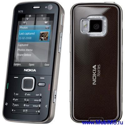 Прошивка для Nokia N78 RM-235 RUS sw-30.011 v7.0
