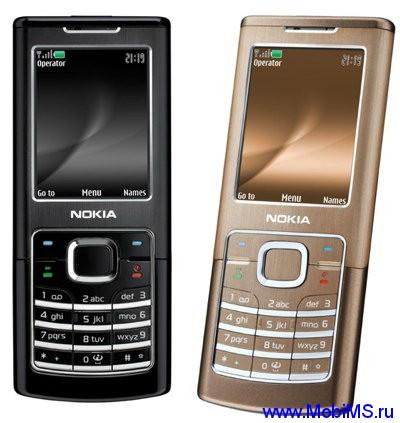 Прошивка для Nokia 6500c RM-265 FW-09.48 Light