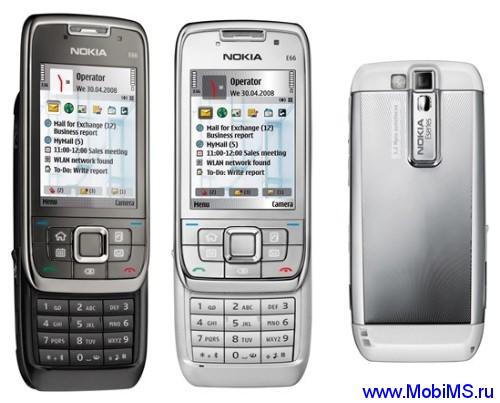 Прошивка для Nokia E66 RM-343 Gr.RUS sw-510.21.009