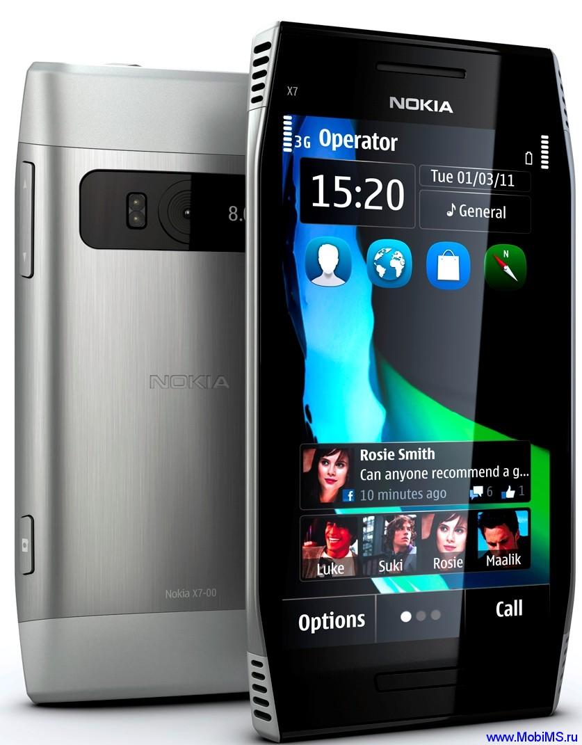 Прошивка для Nokia X7 RM-707 Gr.RUS sw-025.007