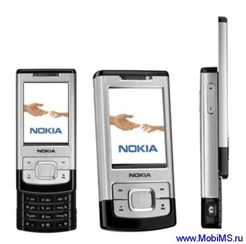Прошивка для Nokia 6500 slide RM-240 v.10.00