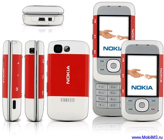 Прошивка для Nokia 5300 XpressMusic RM-146 FW-07.20 Light