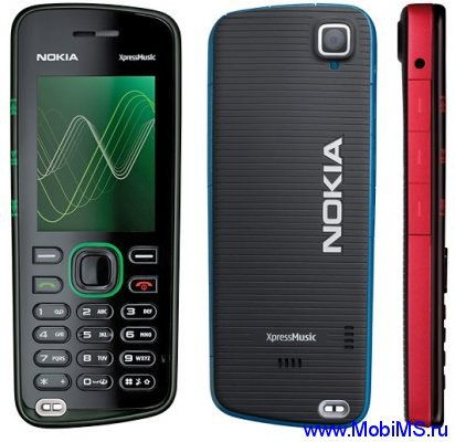 Прошивка для Nokia 5220 XpressMusic RM-411 Gr.RUS sw-07.23 v7