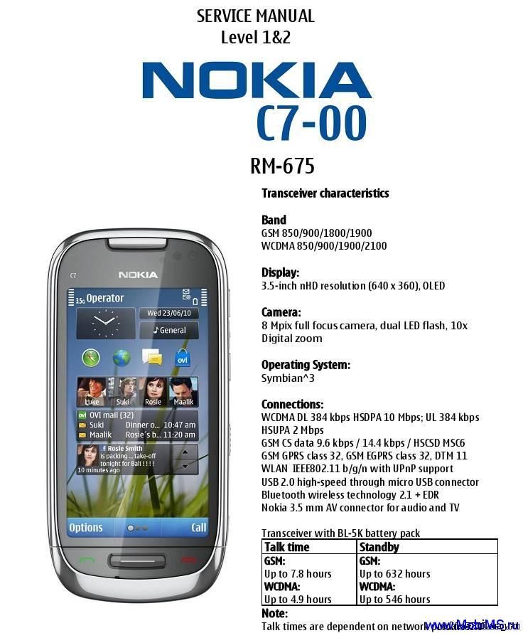 Разбираем смартфон Nokia C7-00, чтобы почистить. Пригодиться всем. Инструкция в картинках, на английском языке.