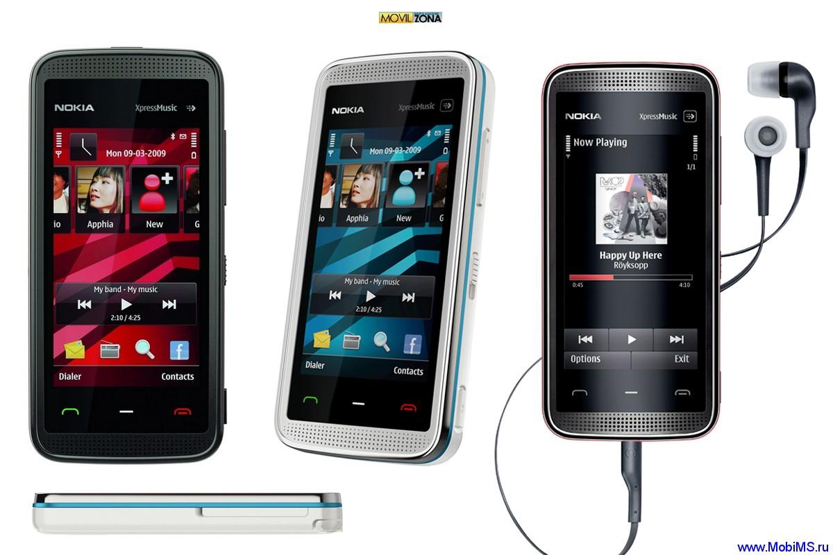 Прошивка для Nokia 5530 XpressMusic RM-504 Gr.RUS sw-40.0.003