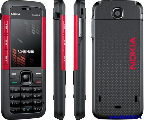Прошивка для Nokia 5310 XpressMusic RM-303 RUS sw-10.10