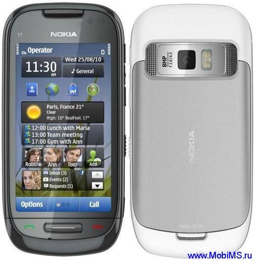 Прошивка для Nokia C7-00 RM-675 Gr.RUS sw-025.007