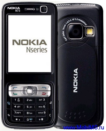 Прошивка для Nokia N73 Music Edition RM-133 RUS sw 4.0839.42.2.1 v11.0 Light