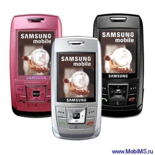 Прошивки для Samsung E250