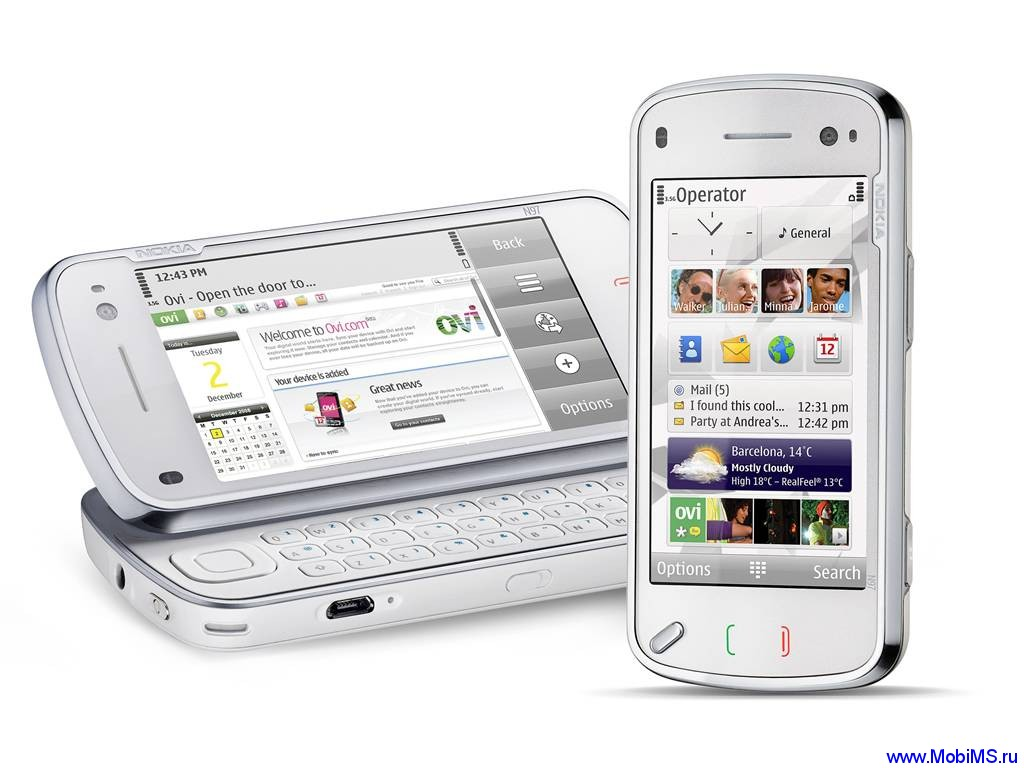 Прошивка для Nokia N97 RM-505 Gr.RUS sw-22.0.110