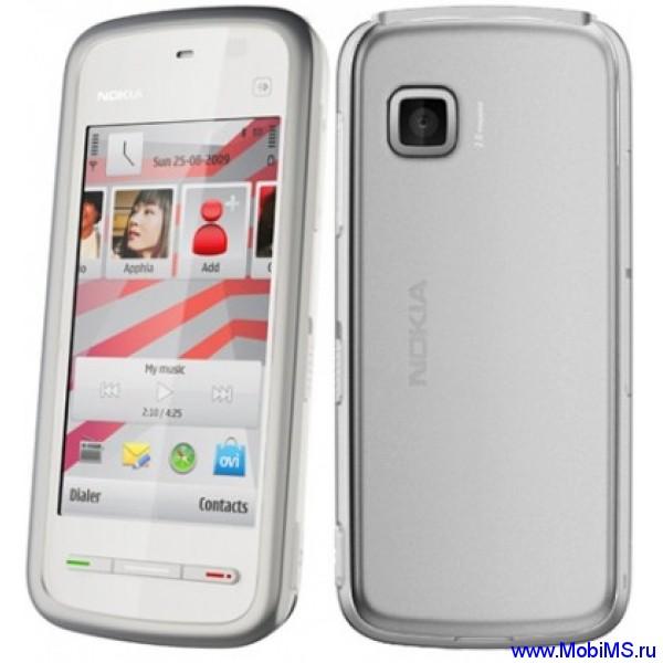 Прошивка для Nokia 5230 RM-588 Gr.RUS sw-50.0.001