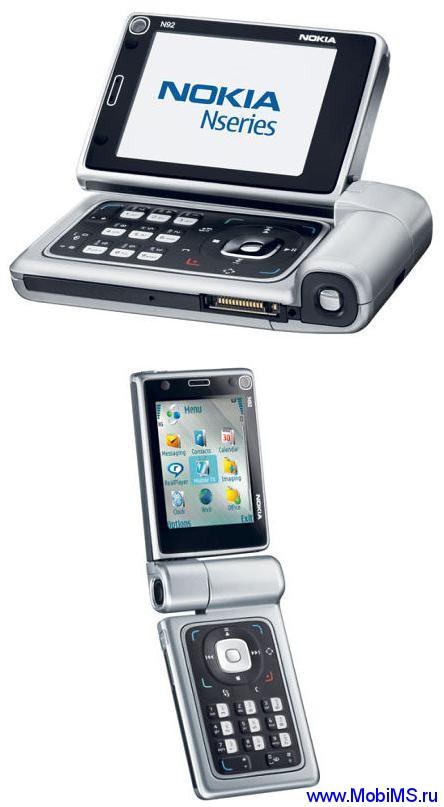 Прошивка для Nokia N92-1 RM-100 RUS sw 5.0748.2.0.4 v4 Light