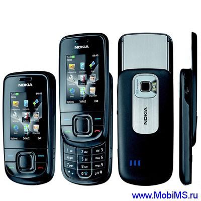 Прошивка для Nokia 3600 Slide RM-352 Gr.RUS sw-7.23 v6