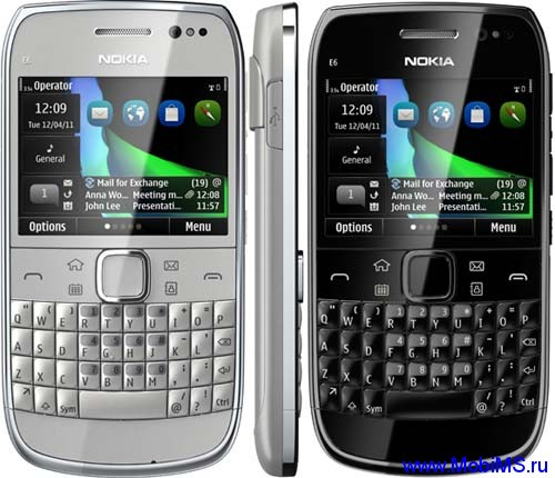 Прошивка для Nokia E6-00 RM-609 Gr.RUS sw-025.007